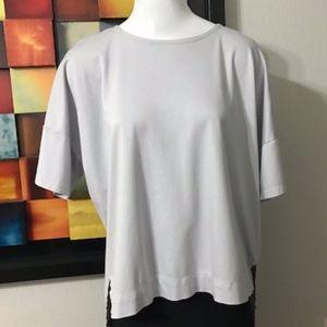 Madewell light gray shirt size Medium